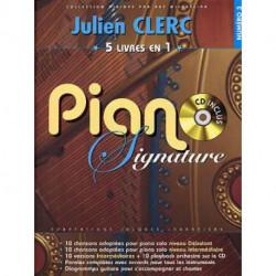 JULIEN CLERC PIANO SIGNATURE