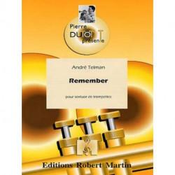 Remember pour sextuor de trompettes -Dutot-Telman