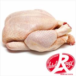 Poulet fermier Label Rouge 6 pers - 1.4 kg
