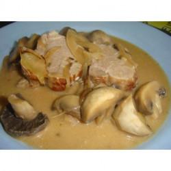 Filet mignon de porc sauce forestiere - 280g