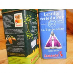 Lentilles vertes du Puy A.O.P