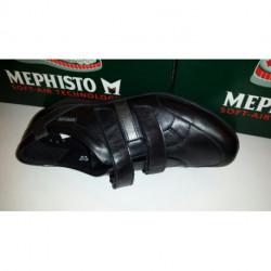 LISA Noir en cuir - chaussures à Scratch de MEPHISTO