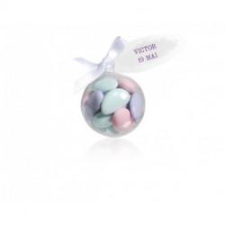Boule cristal Dragées 35g
