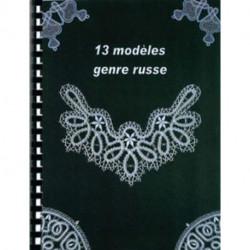 Catalogue 13 modèles Genre Russe