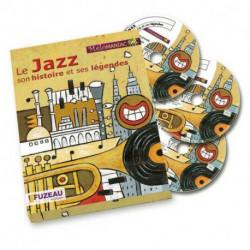 Le Jazz son histoire et ses légendes Fuzeau livre & CD