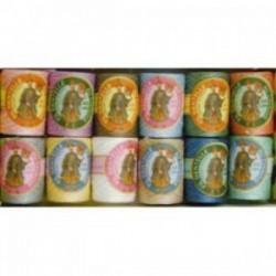 Boite de 12 bobines de Cocons Calais Ass 2 pastel (couleur à préciser sur votre commande)