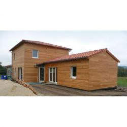 Maison ossature bois - Fabrication et pose
