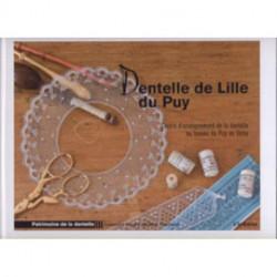 """Livre """"Dentelle de Lille du Puy"""""""