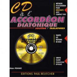 CD à l'accordéon diatonique - livre & CD