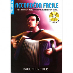 Accordéon Facile (Livre/cd) V.2