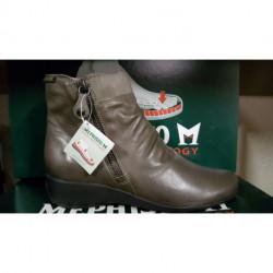 MEPHISTO des boot's ou bottines confortables pour Femme SANTINA noir ou taupe gris