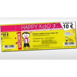 Chèque cadeau HAPPY Kdo Pro