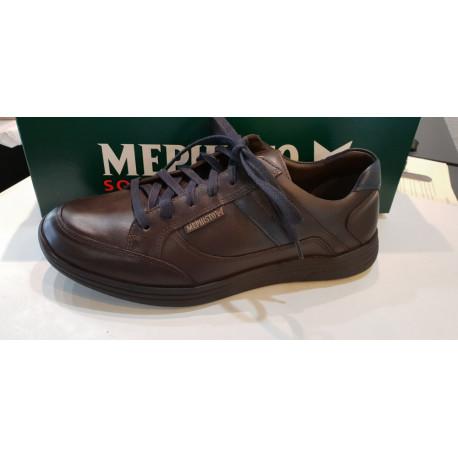 Mephisto basket chaussures confortables à lacets homme FRANK cuir