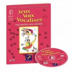 Jeux - Voix - Vocalises n° 1 FUZEAU LIVRE et CD