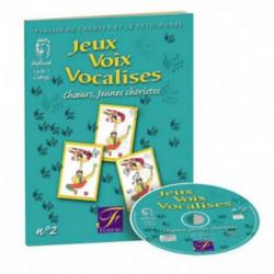Jeux - Voix - Vocalises n° 2 - FUZEAU - livre et CD