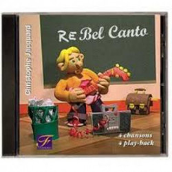 CD REBEL CANTO -FUZEAU - livret + CD
