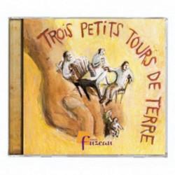 CD TROIS PETITS TOURS DE TERRE - FUZEAU -livret et CD
