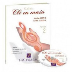 CLE EN MAIN VOL.2 FUZEAU - 4 chants + play-back - livret et CD