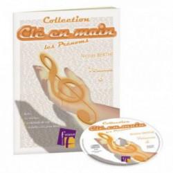 CLE EN MAIN VOL.6 FUZEAU - 4 chants + play-back - livret et CD