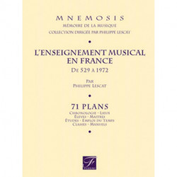 L'enseignement musical en France mnenosis - FUZEAU
