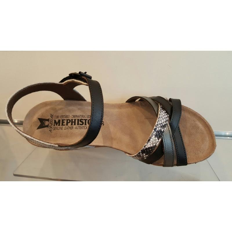 Pied Femme Darnet Le Sandale Nu Compensée Mado Mephistpo De Chaussures 5RjA43L