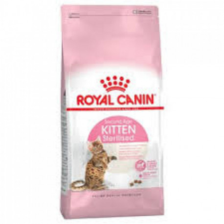 CROQUETTES SECOND AGE KITTEN STERILISED ROYAL CANIN