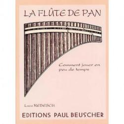 FLUTE DE PAN - la Methode RUBESCU