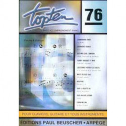 TOP TEN 76 COMPILATION VARIETES TOUS INSTRUMENTS