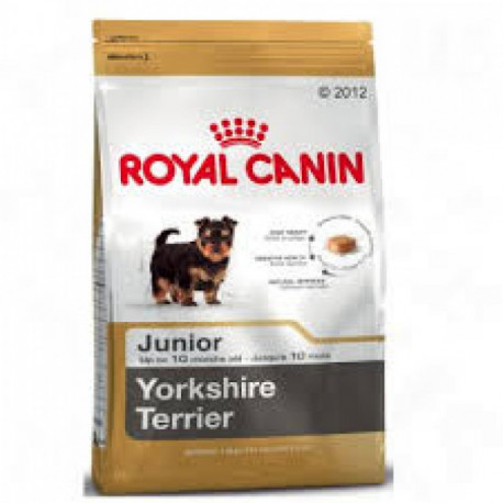 CROQUETTES YORKSHIRE TERRIER JUNIOR ROYAL CANIN 1.50KG