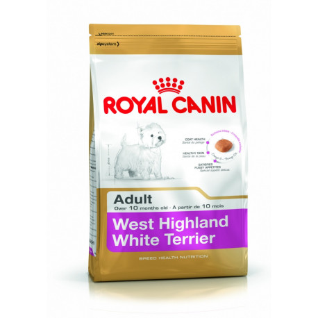 CROQUETTES WEST HIGHLAND WHITE TERRIER ADULTE 1.5KG ROYAL CANIN