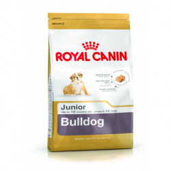 CROQUETTES BULLDOG JUNIOR ROYAL CANIN 3 KG