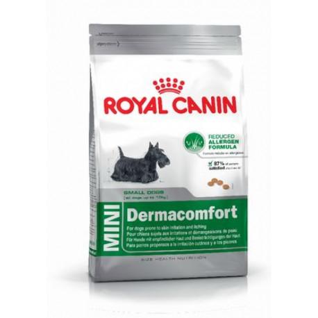 CROQUETTES MINI DERMACONFORT ROYAL CANIN 2 KG