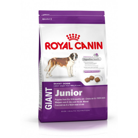 CROQUETTES GIANT JUNIOR ROYAL CANIN 15KG