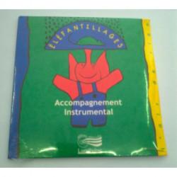 ELEFANTILLAGES CD ACCOMPAGNEMENT INSTRU