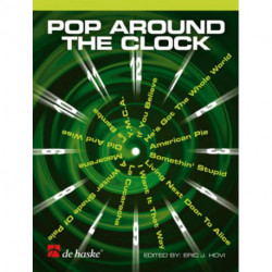 POP AROUND THE CLOCK - partitions clarinette seule avec CD play along