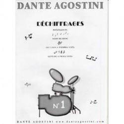 PREPARATION AU DECHIFFRAGE vol 1 - AGOSTINI