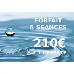Forfait 5 séances + 1 offerte