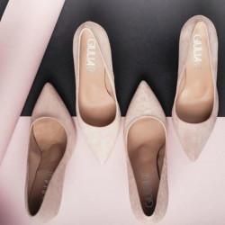 Escarpin pour femme G 8 REGINEGIULIA Nude Ante rose mode élégance confort talon haut 7cm