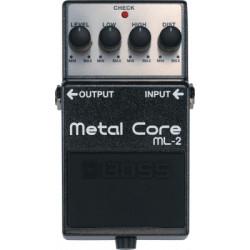 Pédale BOSS METAL CORE -ML-2