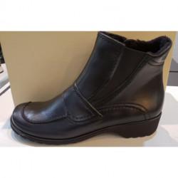 BOTTINE DE ARA en cuir noir 22752 coloris 61 ANDROS ST pour femme confortable