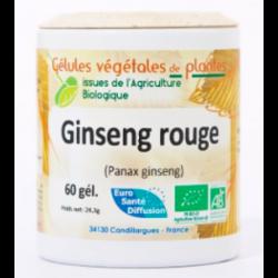 Ginseng rouge - Gélules de plantes Bio Phytofrance