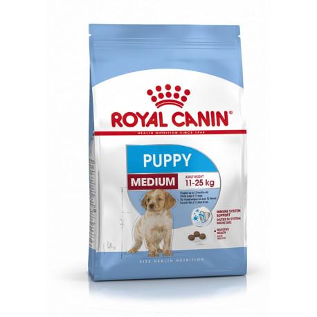 Croquettes Chien Royal Canin Puppy Medium sac de 4 ou 15 kg