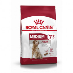 Croquettes Chien Royal Canin Adult Medium 7+ sac de 4