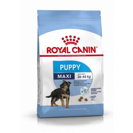 Croquettes Chien Royal Canin Puppy Maxi Sac de 4 et 15 kg
