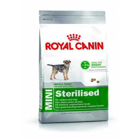 Croquettes Chien Royal Canin Mini Stérilisé Sacs de 2, 4 ou 8kg