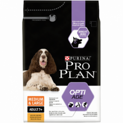 Croquettes Chien Pro Plan Adult Medium/Large 7+ Sac de 14 kg