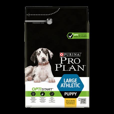 Croquettes Chien Pro Plan Puppy Large Athlétic Sac de 12 kg