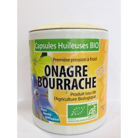 Onagre Bourrache - Capsules huileuses Bio - Phytofrance