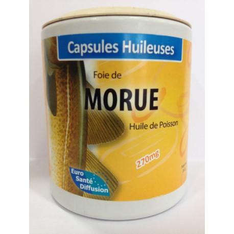 Foie de morue - Capsules huileuses - Phytofrance