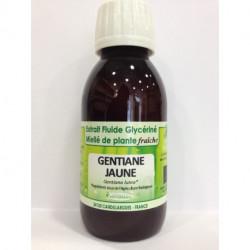 Gentiane jaune - Extrait Fluide Glycériné Miellé de plante Bio - Phytofrance